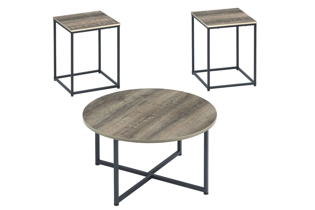 Wadeworth 3-Pack Tables by Ashley from Gardner-White Furniture