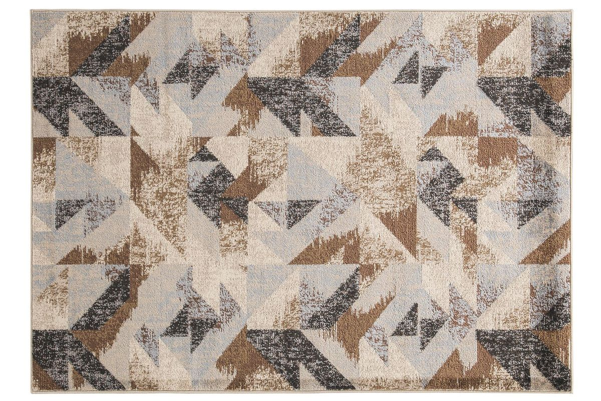 Jun Contemporary 5x7 Area Rug by Ashley from Gardner-White Furniture