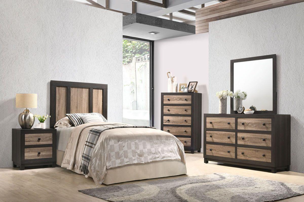 panama 5piece twin bedroom set at gardnerwhite