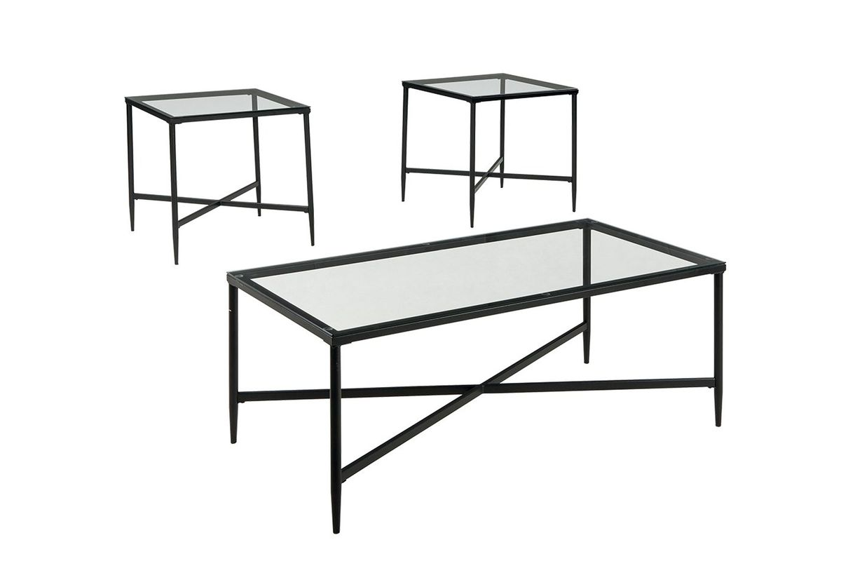 Augeron 3-Pack Tables by Ashley from Gardner-White Furniture