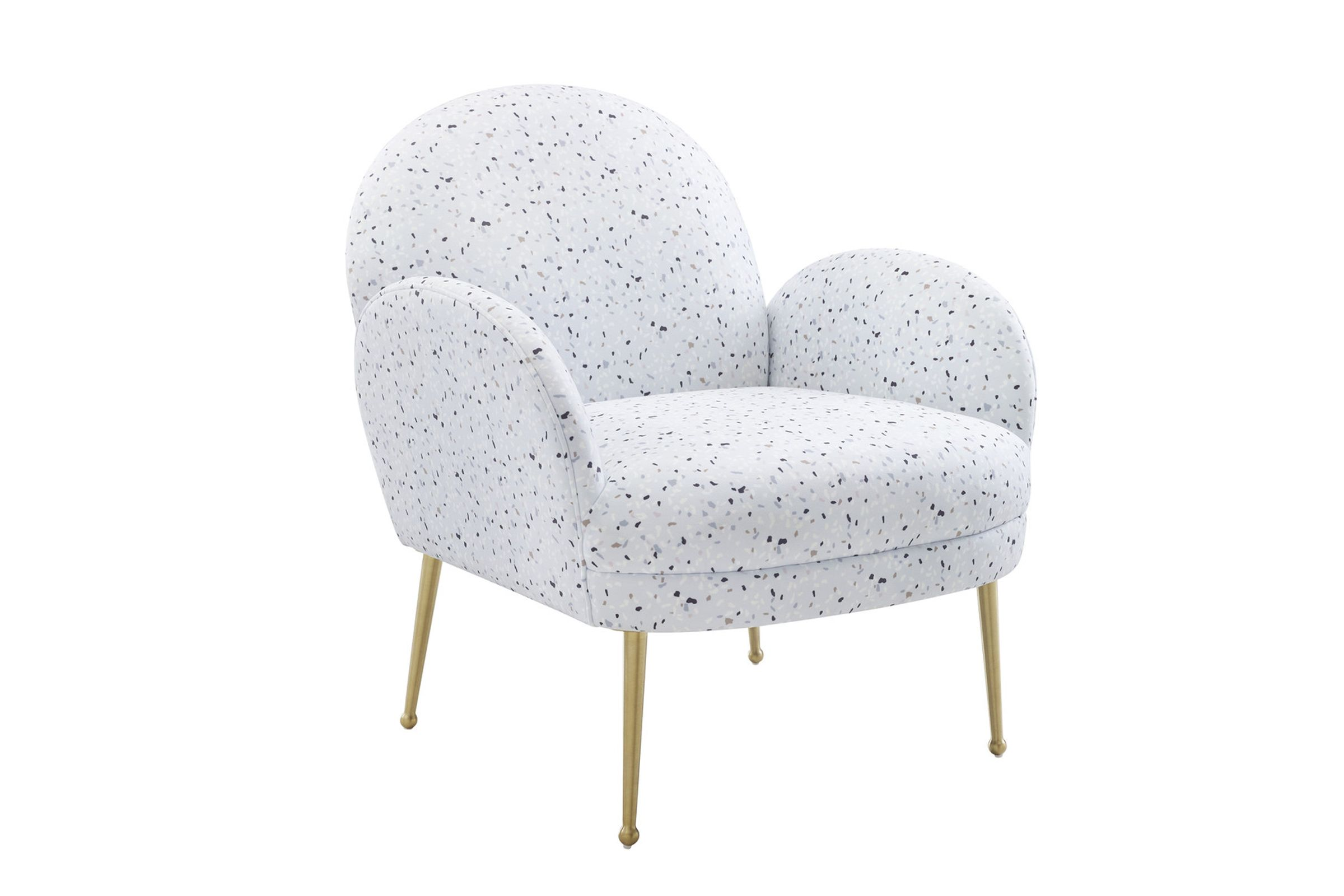 Picture of: Gwen Velvet Chair By Tov