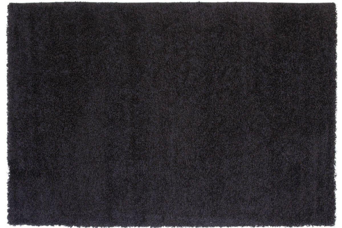 Domino Black Shag 5x7 Area Rug from Gardner-White Furniture