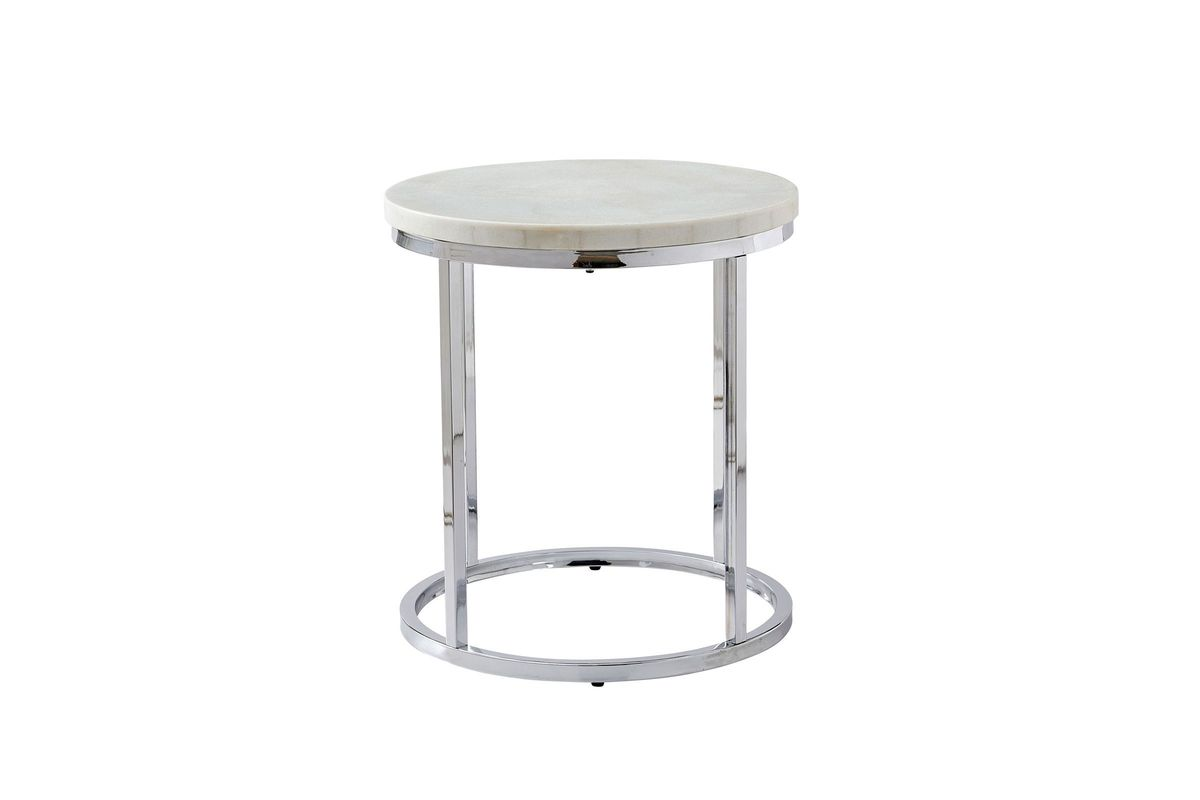 Echo Marble End Table from Gardner-White Furniture