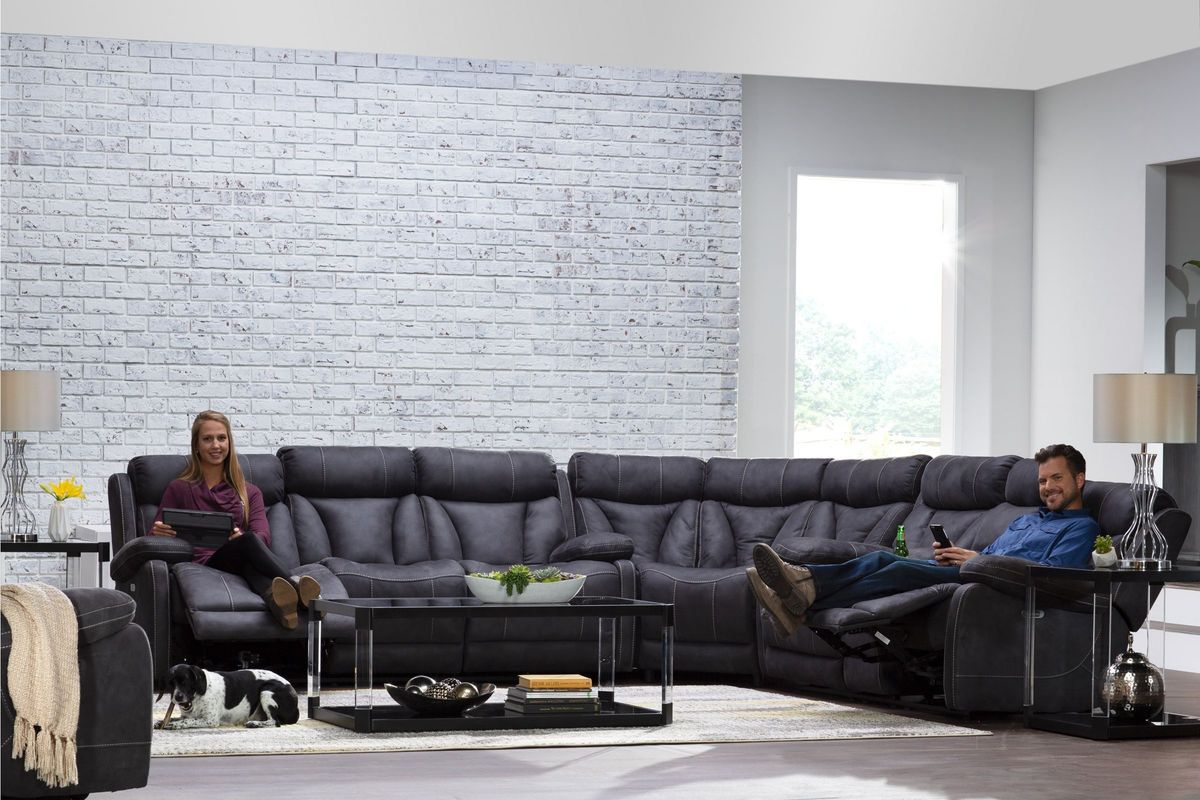 Borwich 7-Piece Sectional Big Picture Package with 50