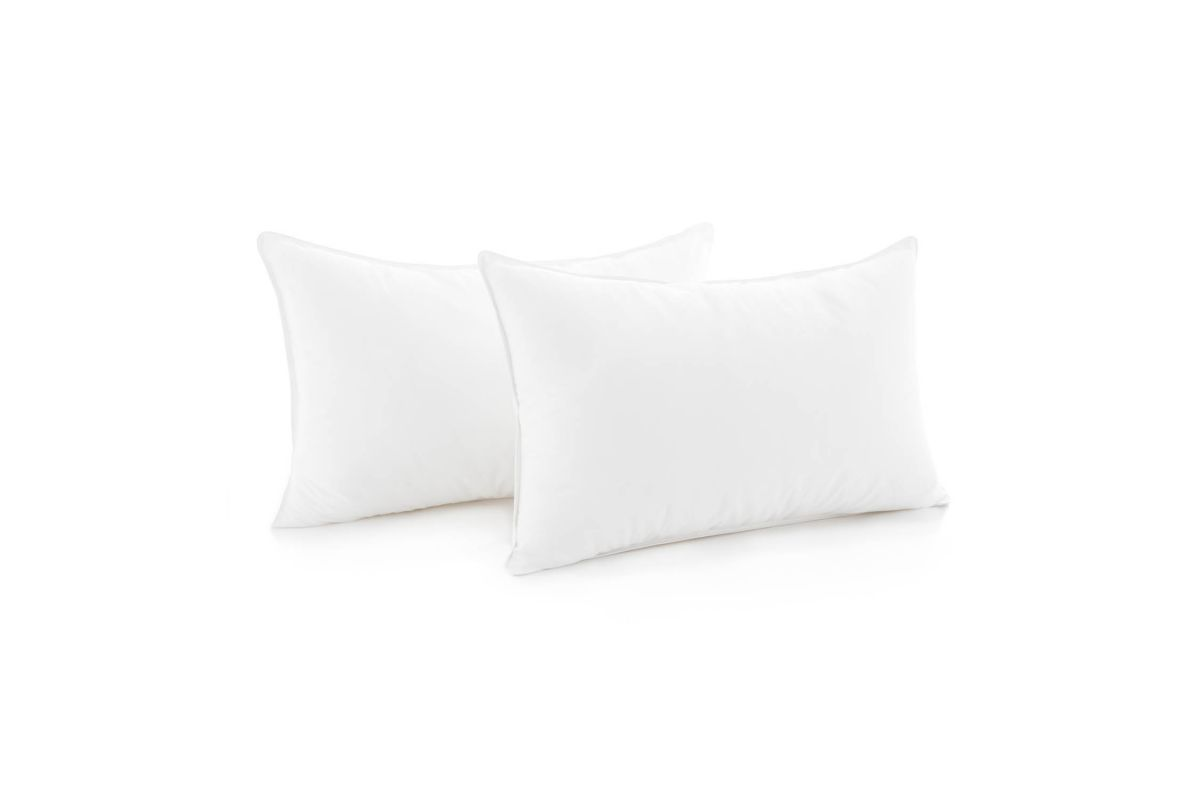 Weekender Compressed Pillow, 2-Pack, King by Malouf from Gardner-White Furniture