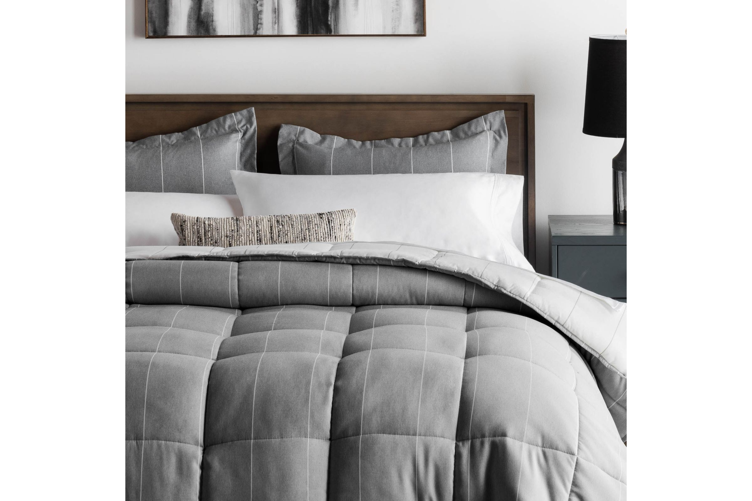 Chambray Comforter Set By Malouf