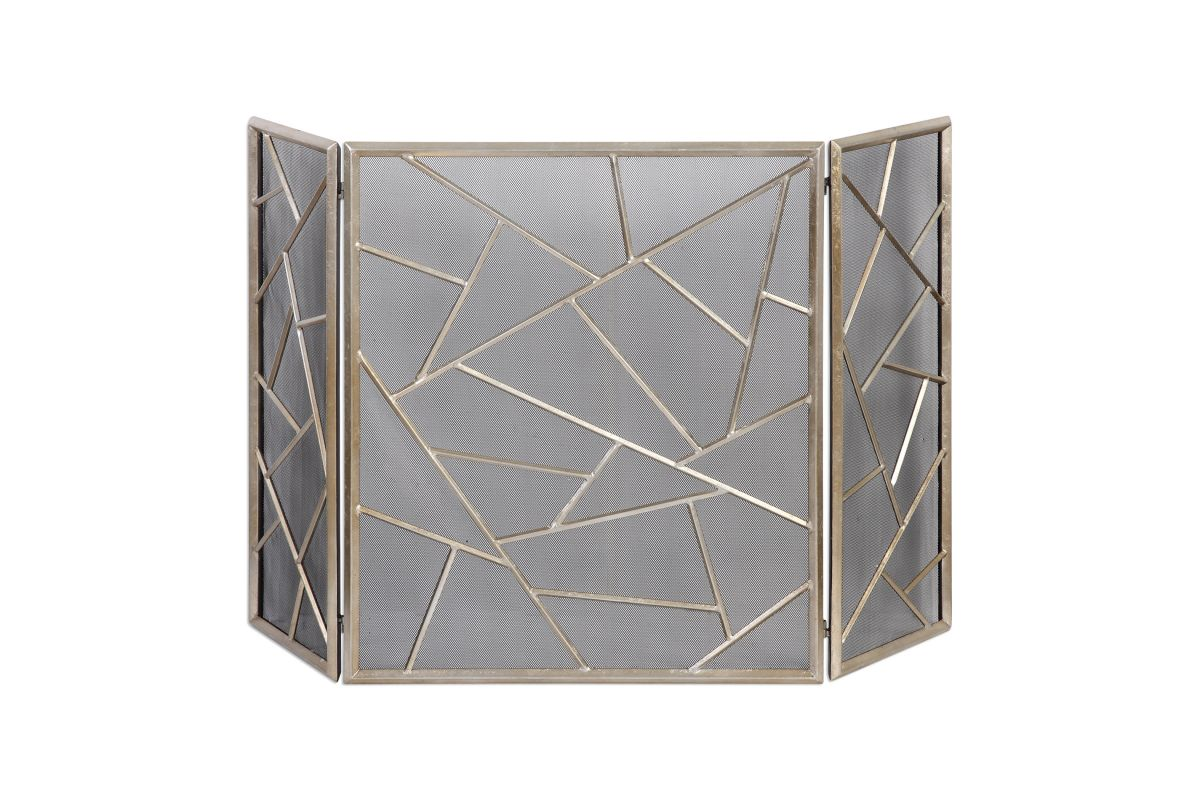 Armino Modern Fireplace Screen from Gardner-White Furniture