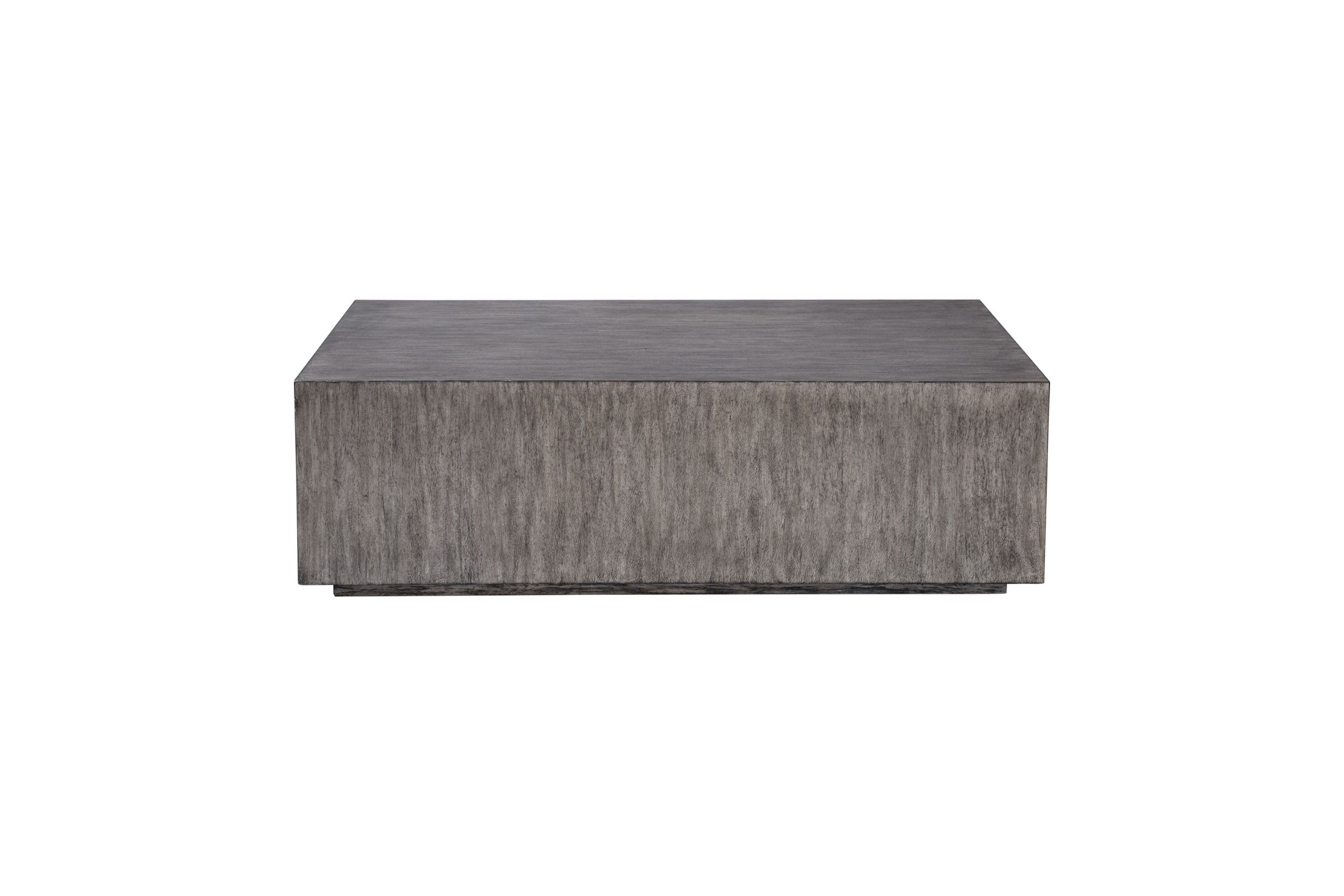 Kareem Modern Gray Coffee Table At Gardner White