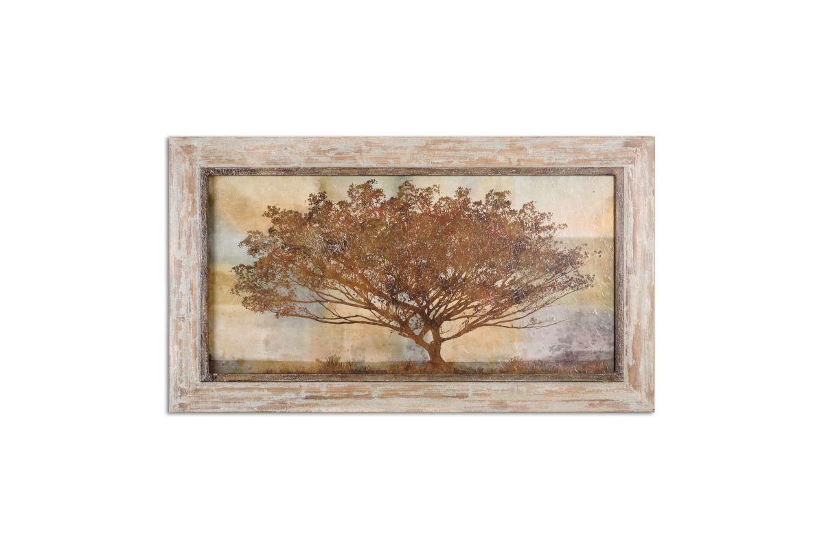 Autumn Radiance Sepia Framed Art from Gardner-White Furniture