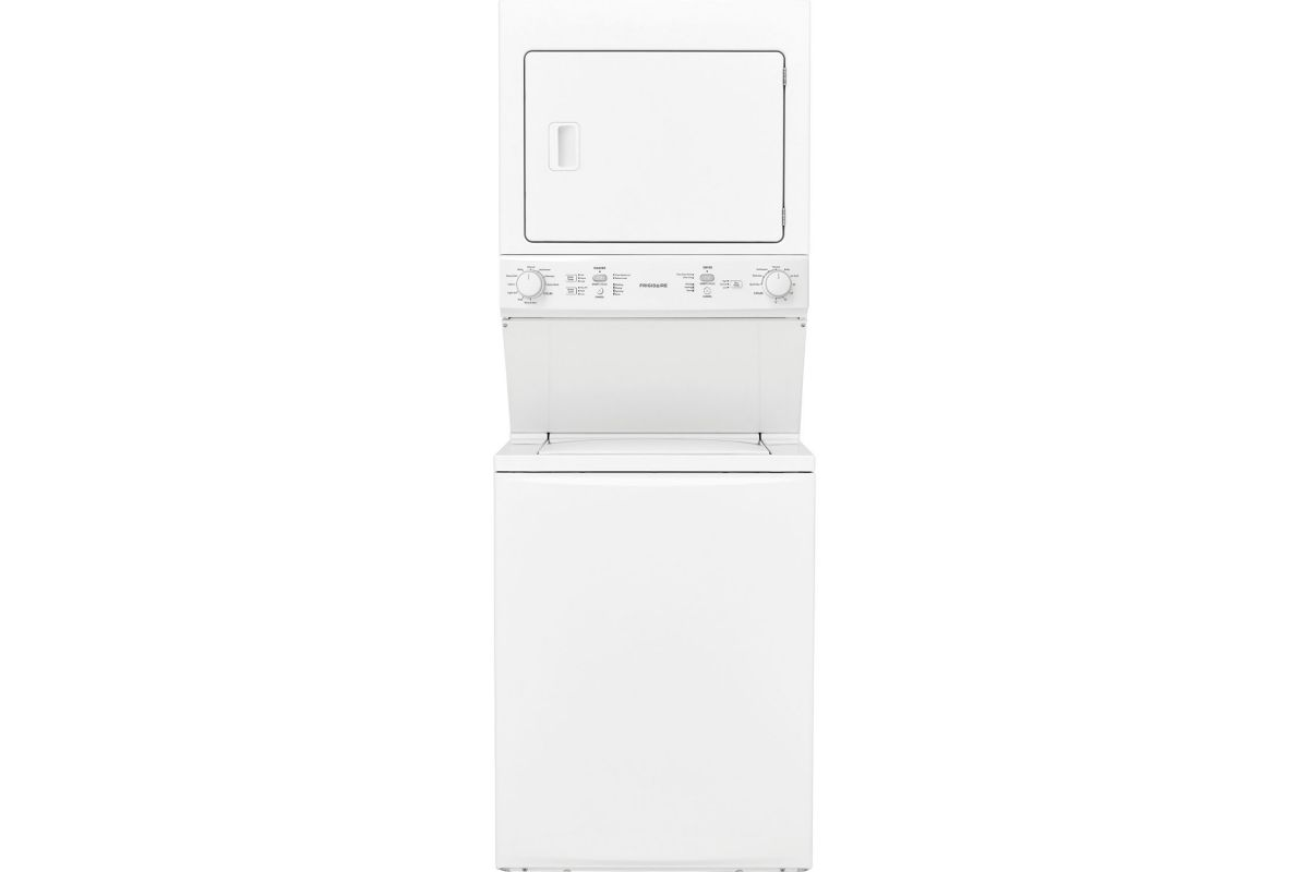 Frigidaire Gas Washer/Dryer Laundry Center - 3.9 Cu. Ft Washer and 5.5 Cu. Ft. Dryer from Gardner-White Furniture
