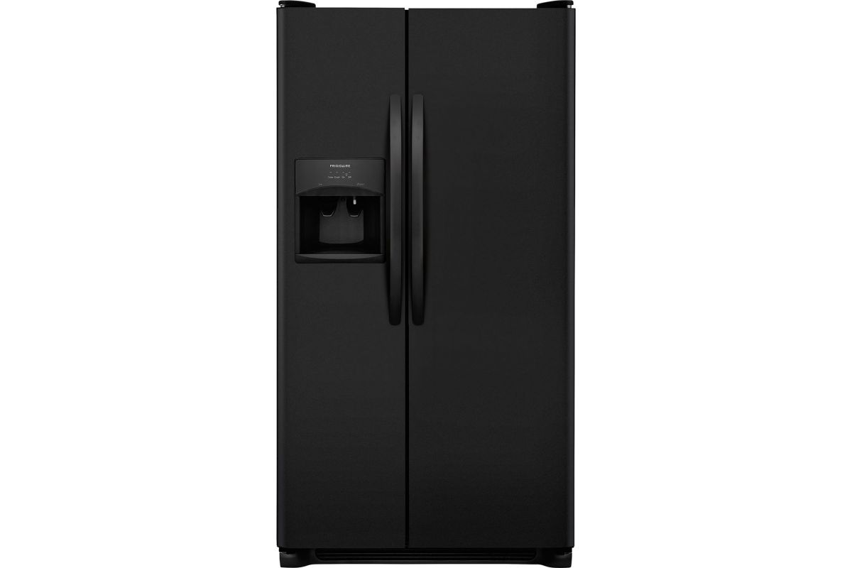Electrolux 22.1Cu. Ft. Side-by-Side Refrigerator - Black from Gardner-White Furniture