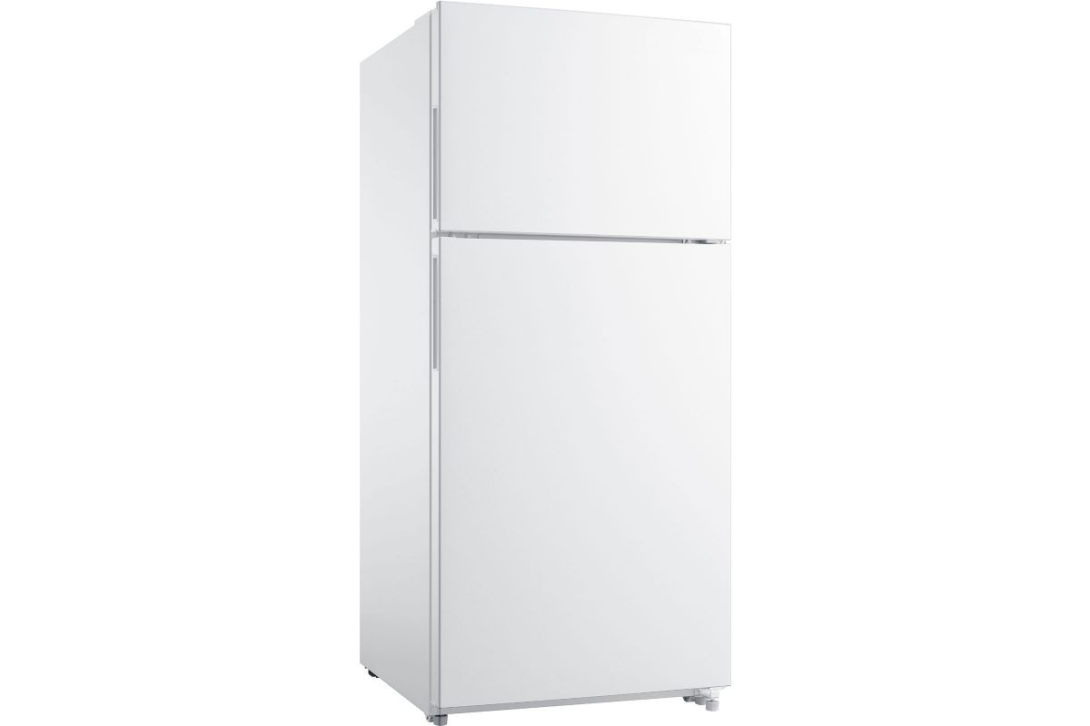 Frigidaire 18.0Cu. Ft. Top Mount Refrigerator - White from Gardner-White Furniture