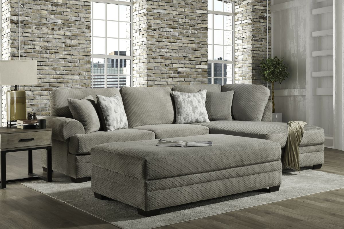 Oyster Sectional from Gardner-White Furniture