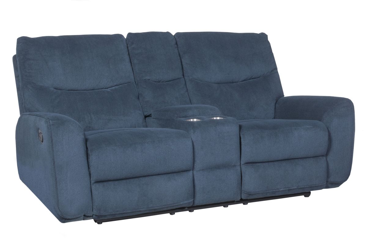 Baltimore Reclining Loveseat with Console from Gardner-White Furniture