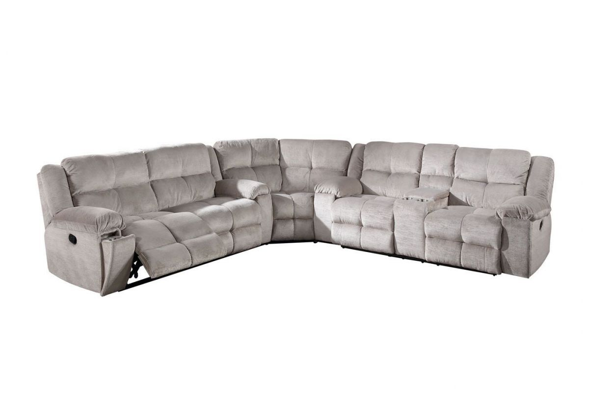 Holland 3-Piece Power Reclining Sectional with Console from Gardner-White Furniture