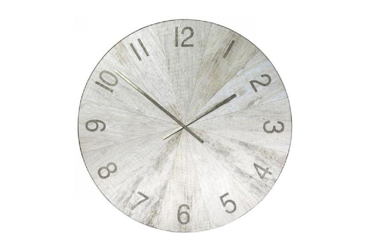 Matte Oak Clock from Gardner-White Furniture