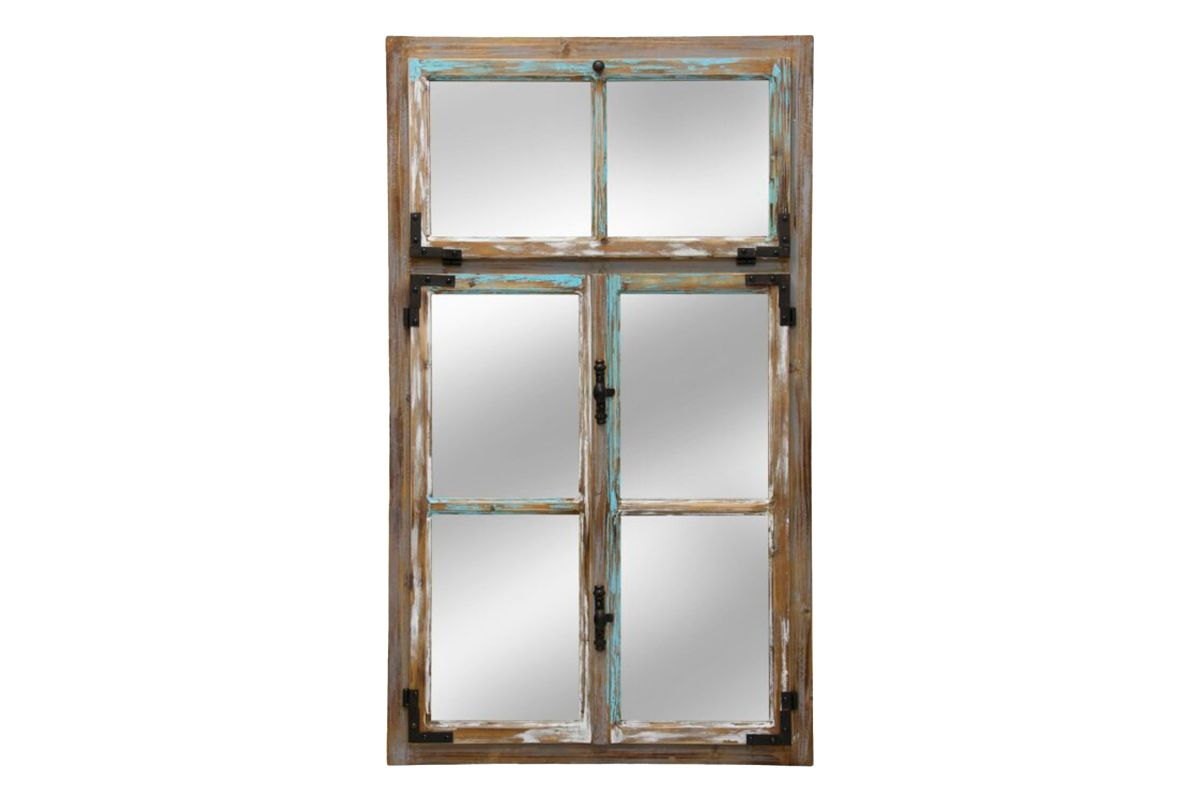 Window Pane Wall Mirror from Gardner-White Furniture