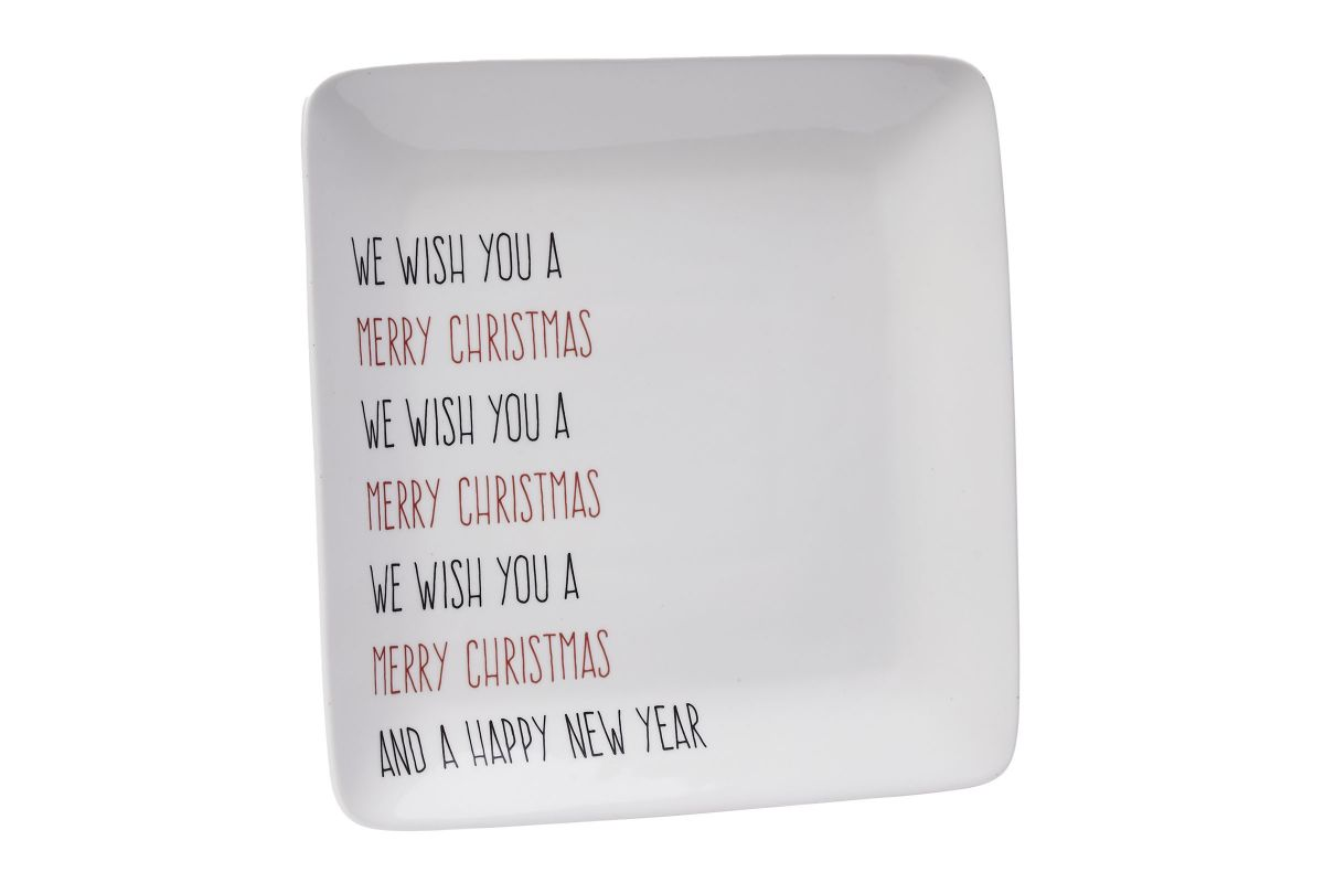 Deco Holiday Plate from Gardner-White Furniture