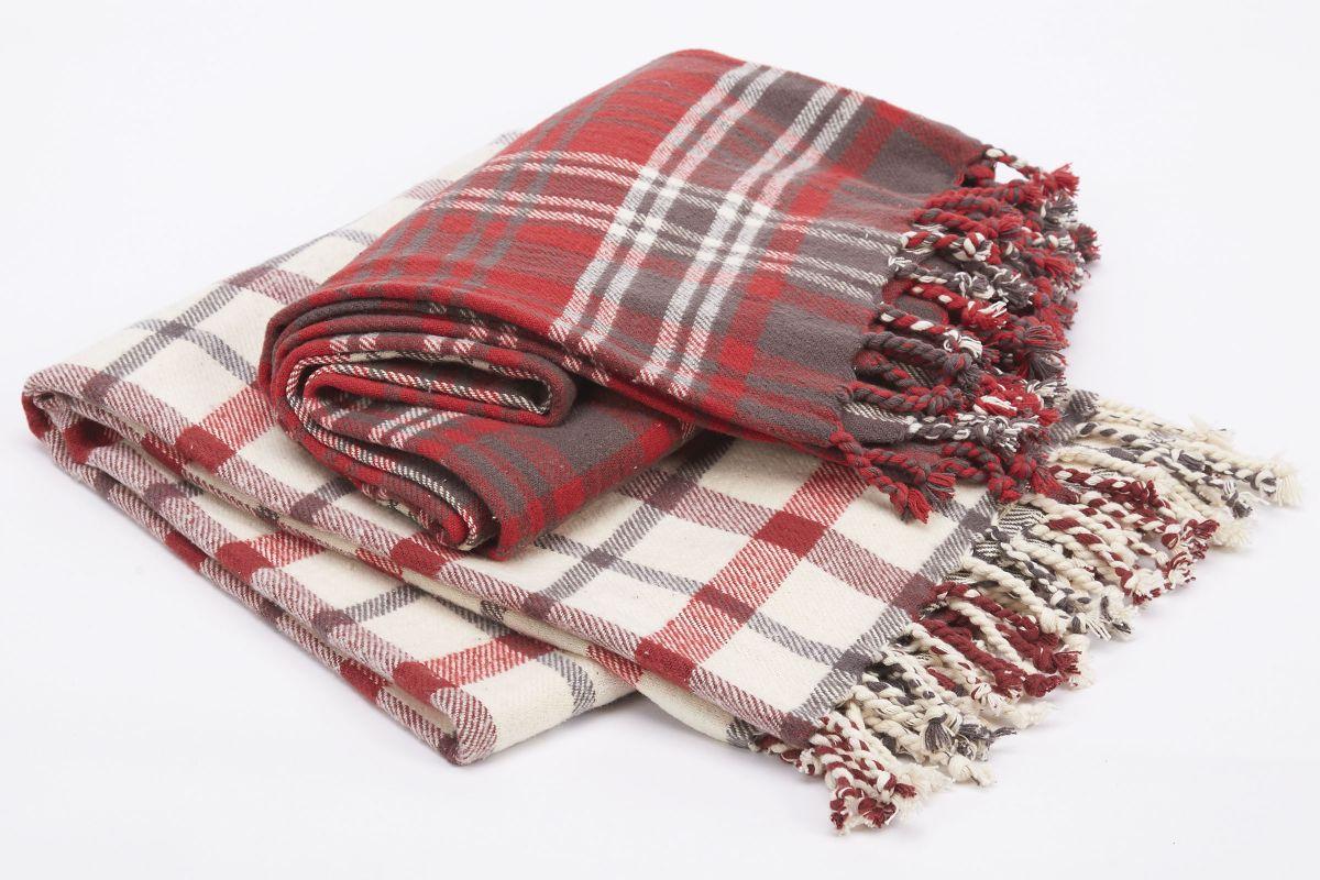 Plaid Throw Blanket from Gardner-White Furniture