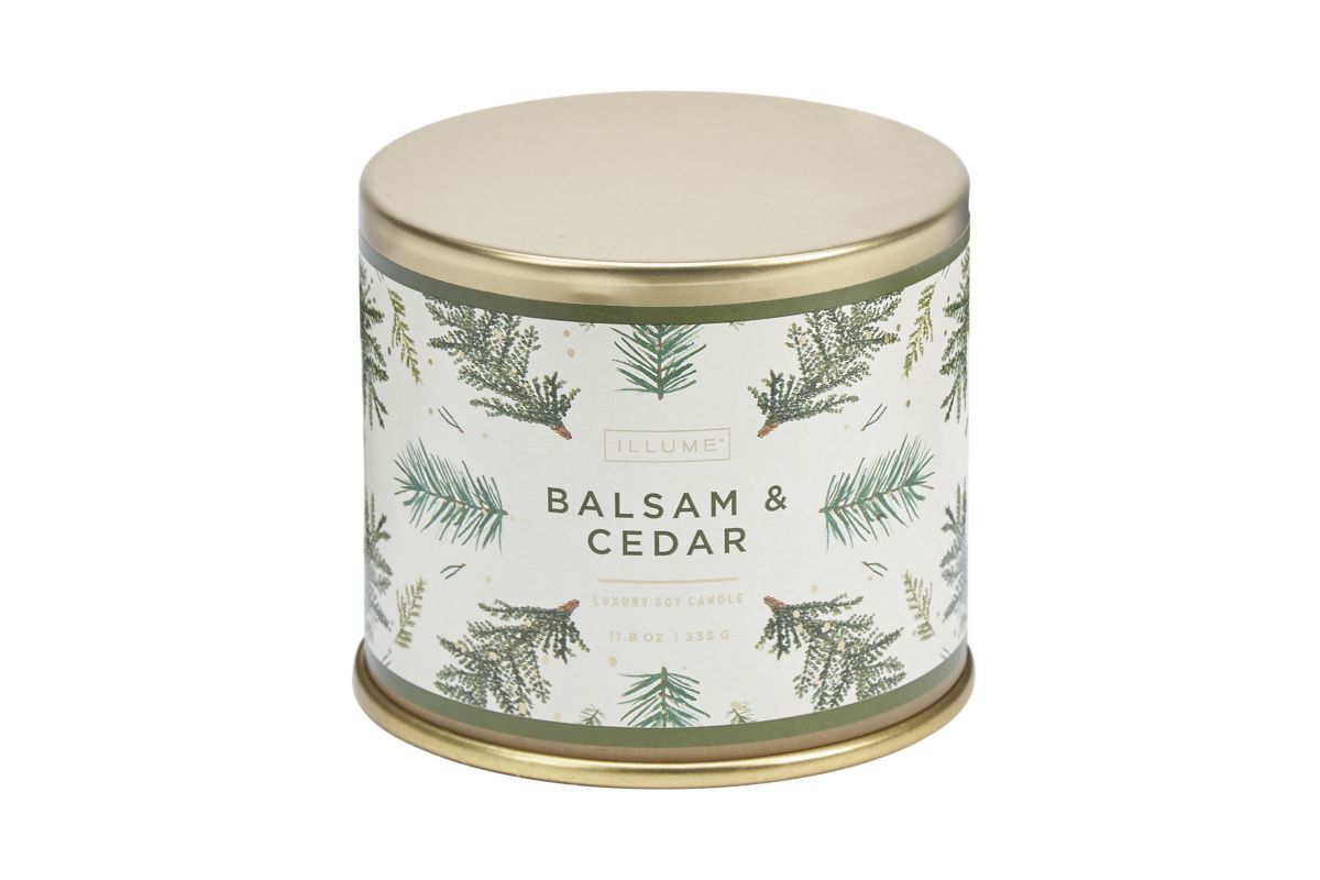 Balsam & Cedar Candle from Gardner-White Furniture