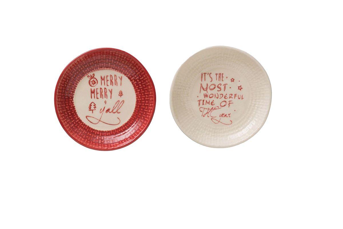 Christmas Plate from Gardner-White Furniture