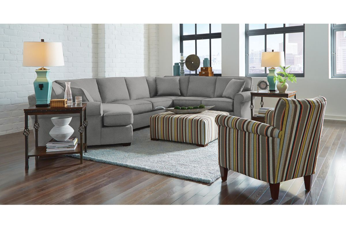 Marisol Sectional with Cuddler on the Left from Gardner-White Furniture