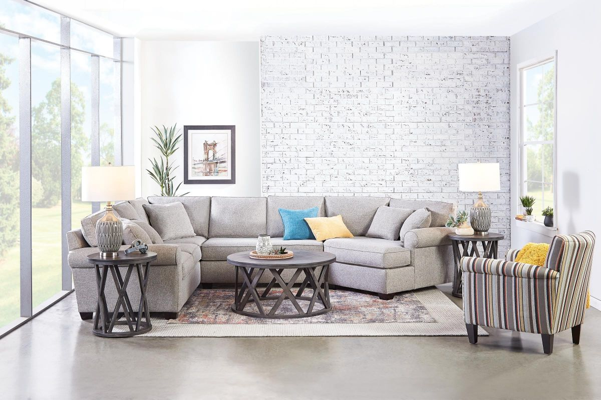 Marisol Sectional with Cuddler on the Right from Gardner-White Furniture