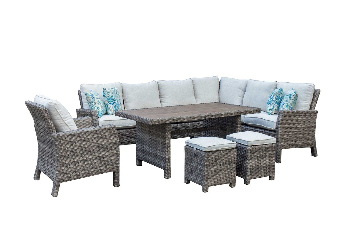 Arcadia 2 Piece Patio Sectional from Gardner-White Furniture