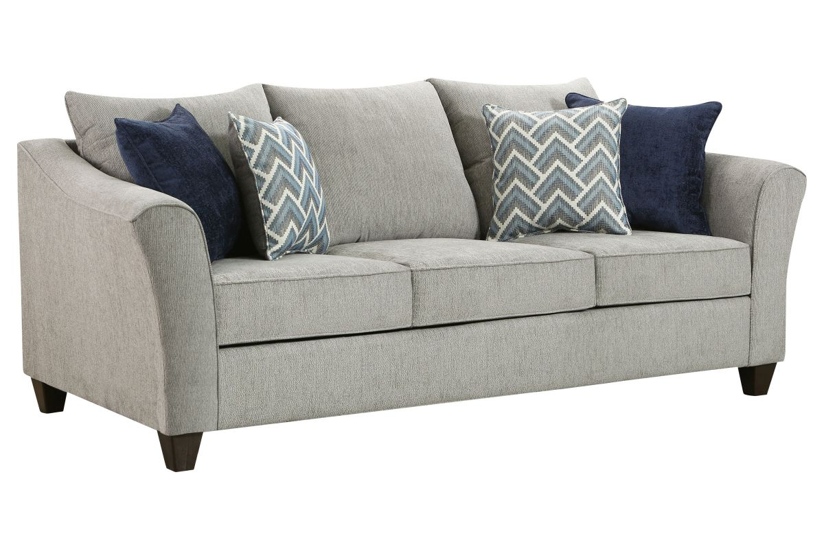 Albany Silver Sofa from Gardner-White Furniture