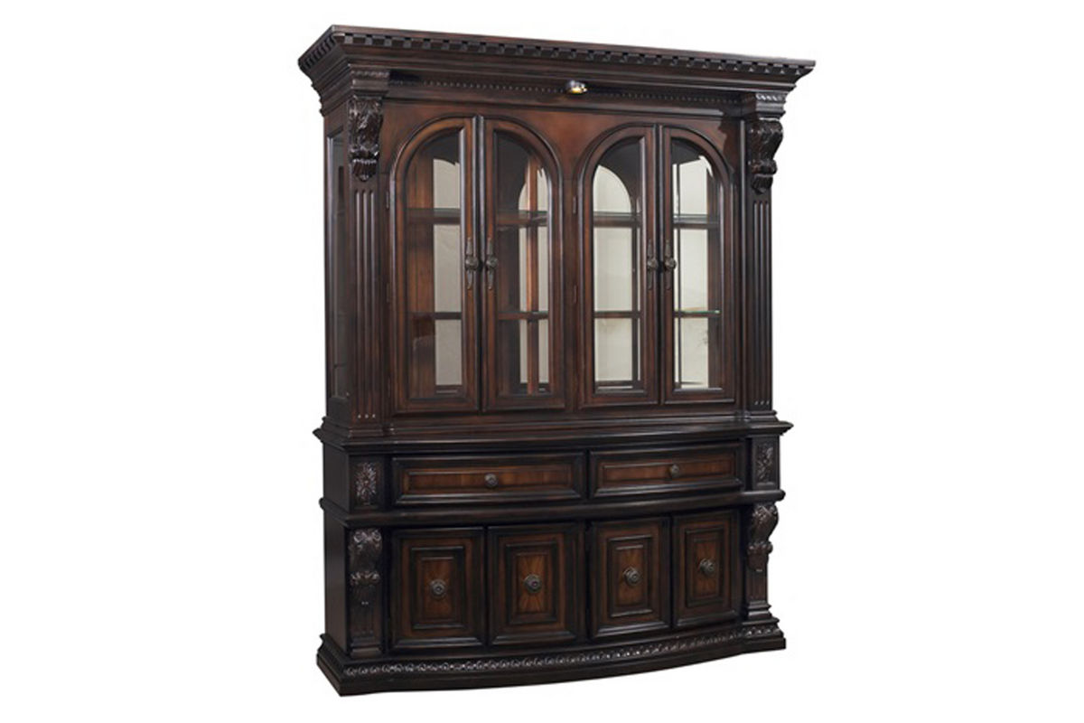 Cabernet China Cabinet from Gardner-White Furniture
