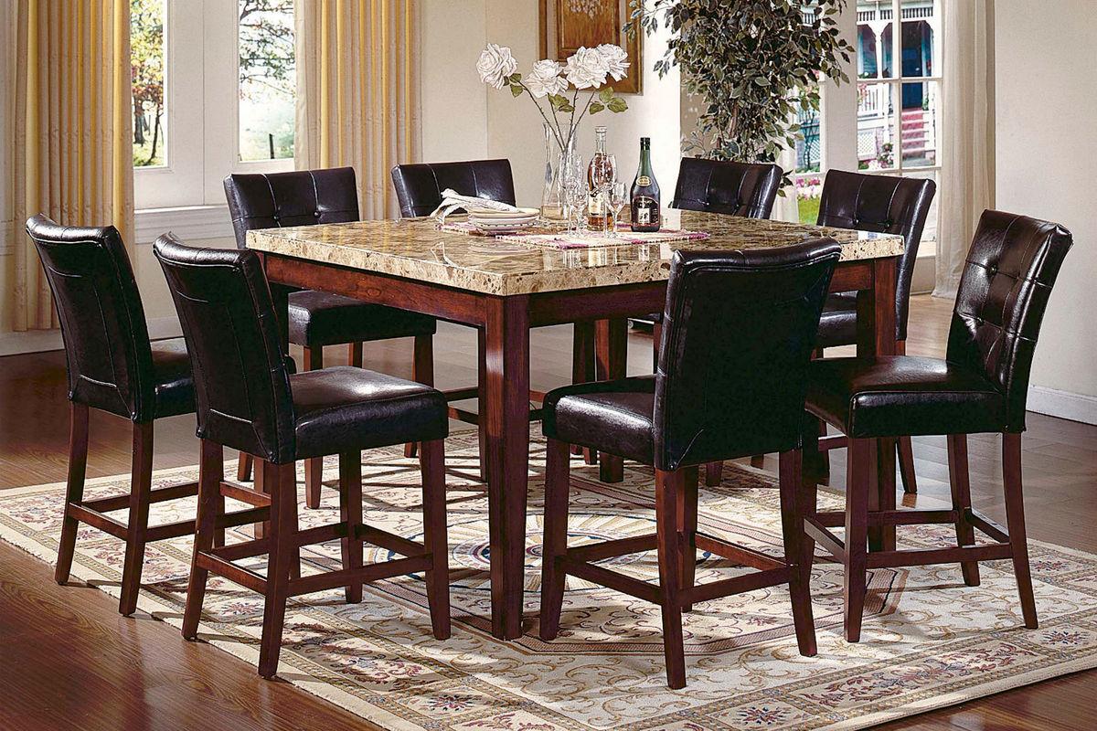 Montibello Gathering Table & 4 Stools from Gardner-White Furniture