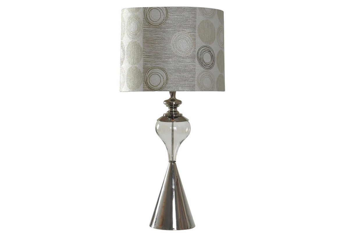 Steel Cone Base Table Lamp from Gardner-White Furniture