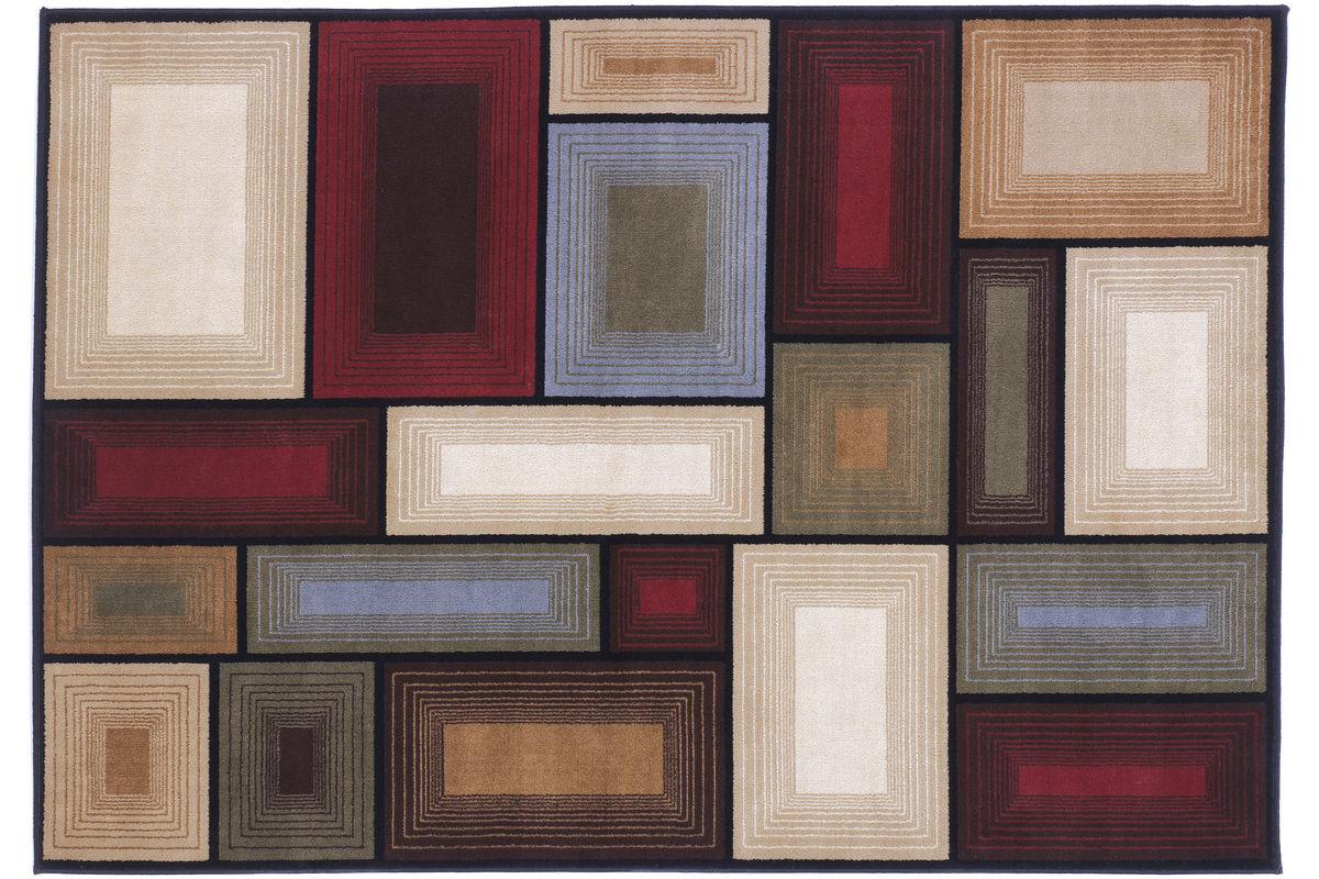 Prism Medium Rug by Ashley from Gardner-White Furniture