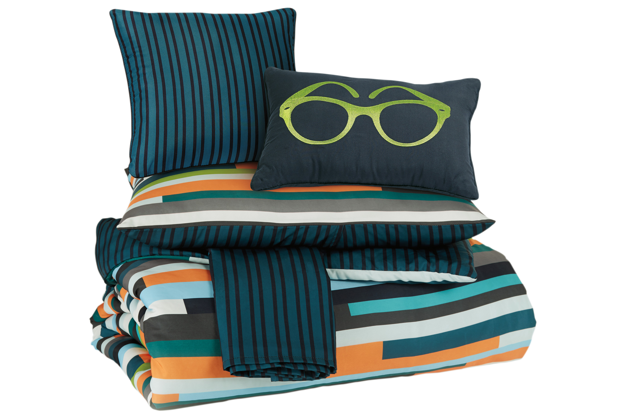 Seventy Twin Comforter Set In Multi By Ashley At Gardner White