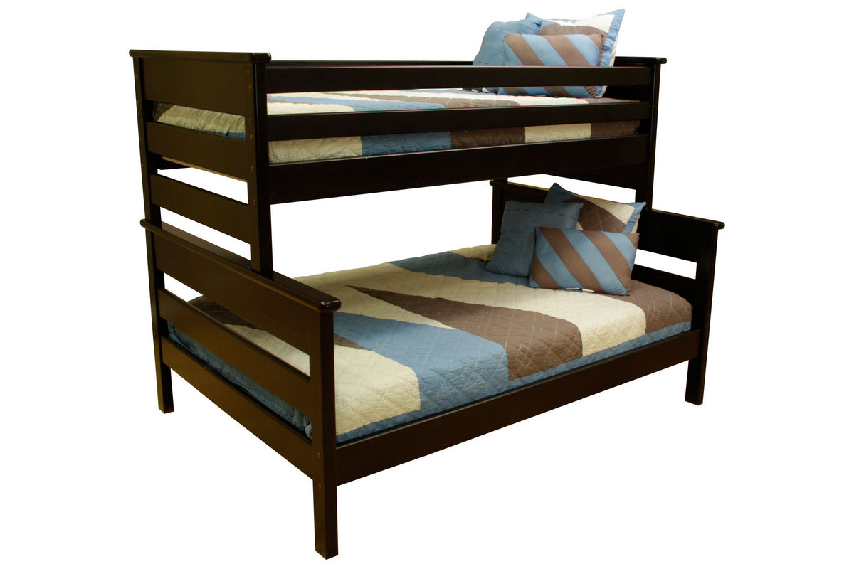 Picture of: Laguna Black Twin Over Full Bunk Bed At Gardner White