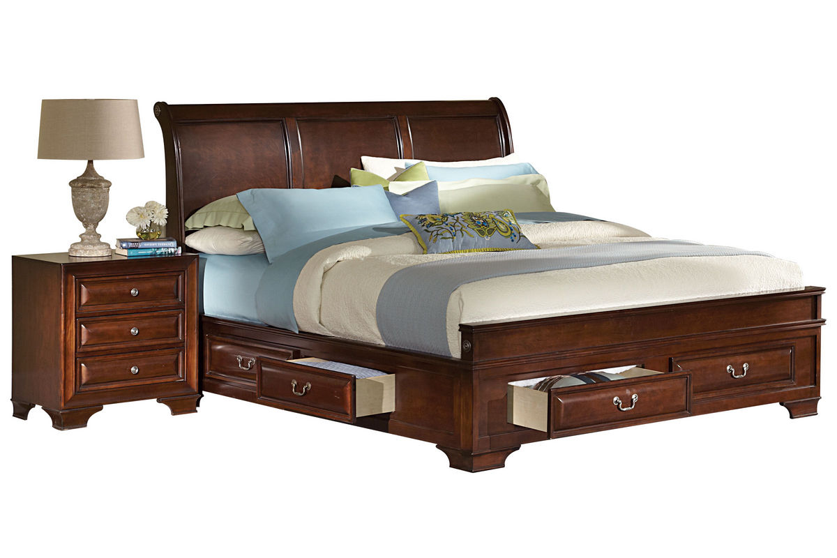 Cadence King Storage Bed from Gardner-White Furniture