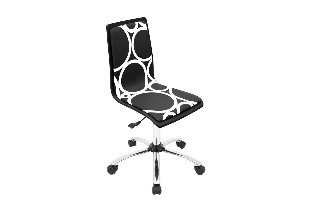 Printed Crown Block Office Chair by LumiSource_FDROP_161229 from Gardner-White Furniture