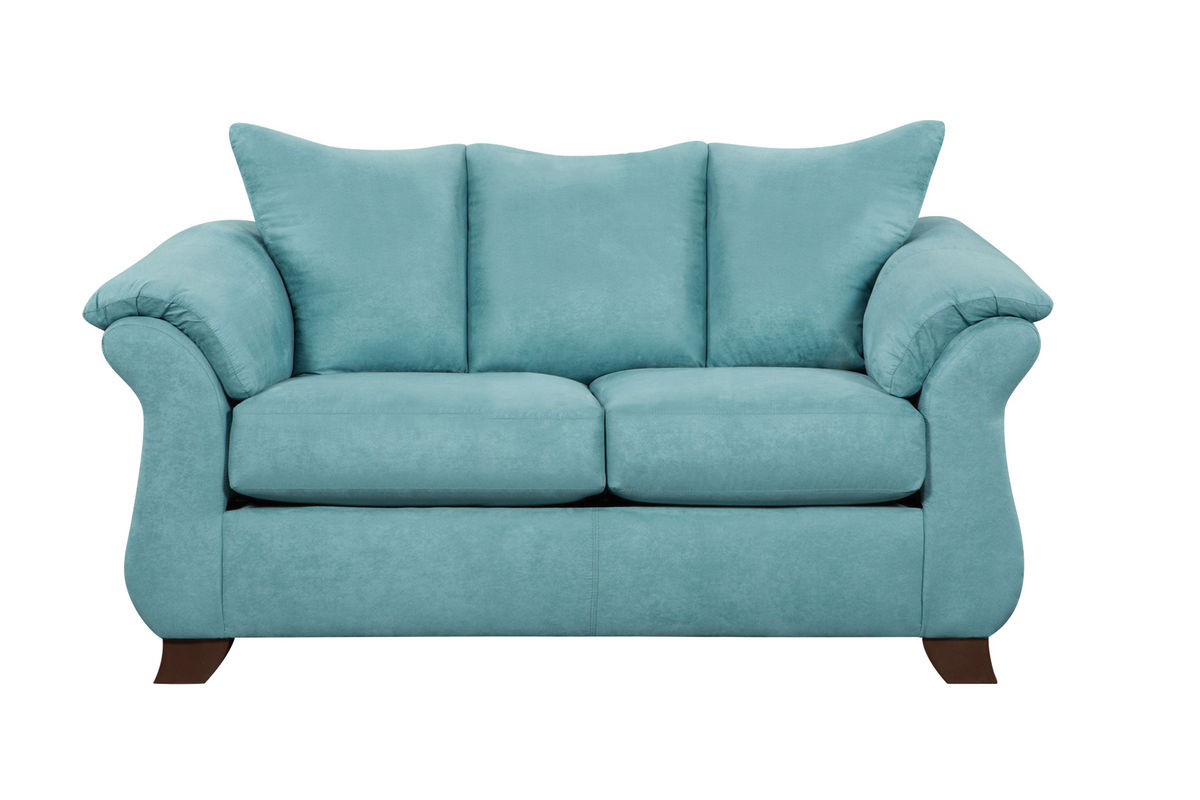 Taffy Microfiber Loveseat from Gardner-White Furniture