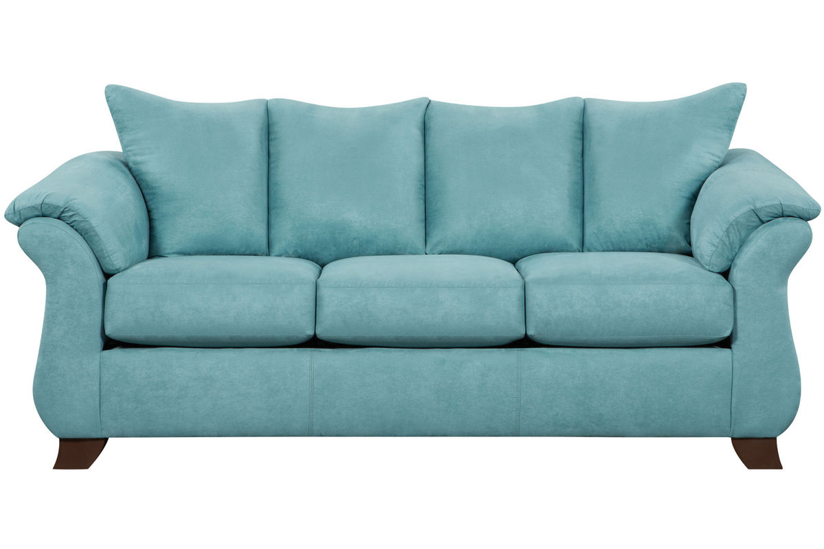 Taffy Microfiber Sofa from Gardner-White Furniture
