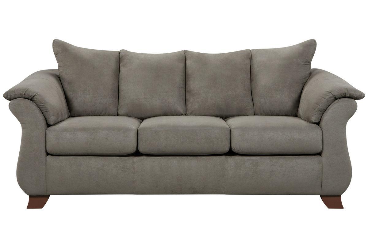 Upton Microfiber Sofa from Gardner-White Furniture