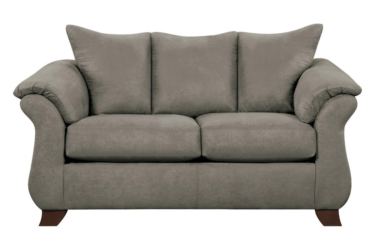 Upton Microfiber Loveseat from Gardner-White Furniture
