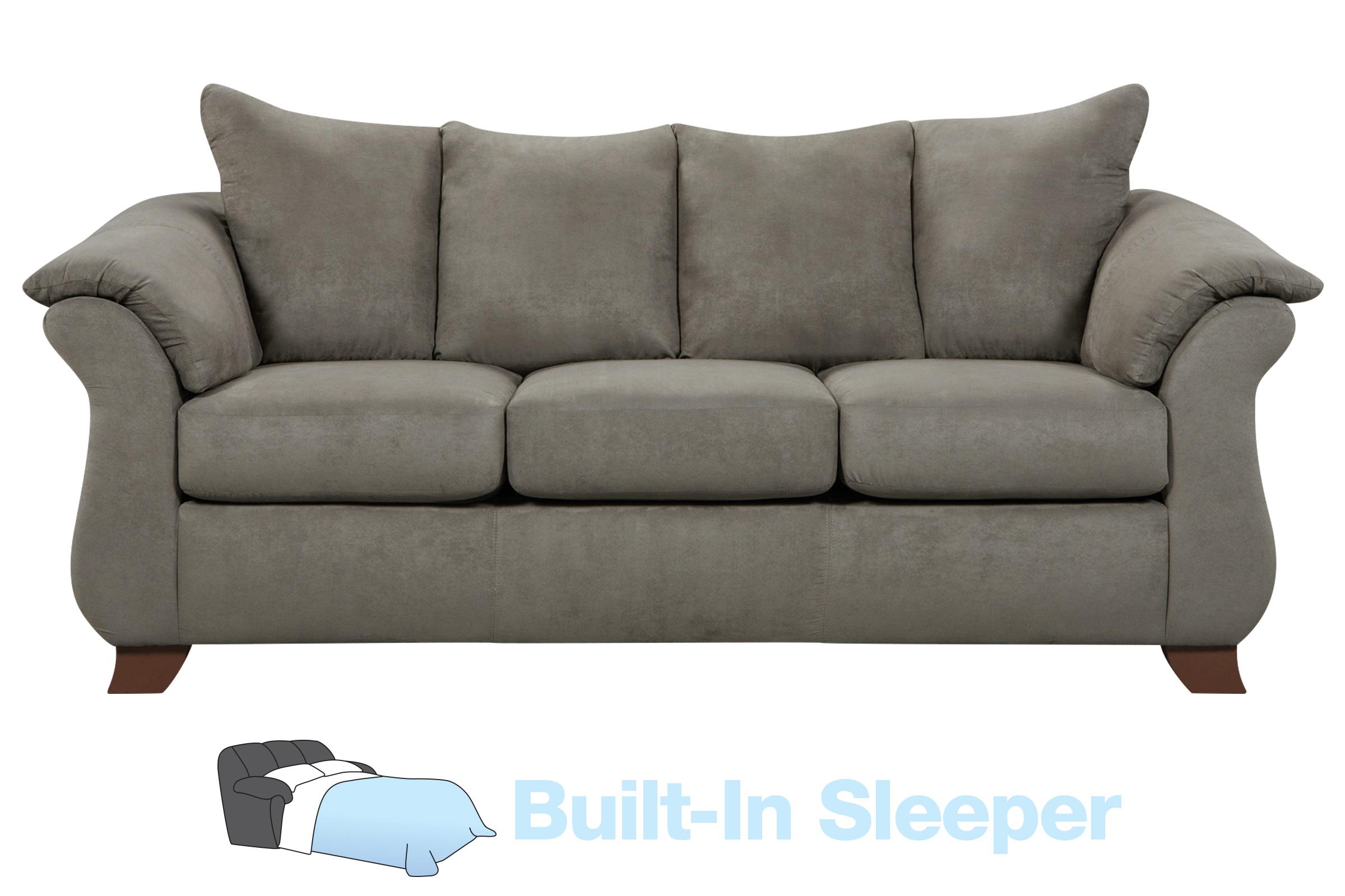- Upton Microfiber Queen Sleeper Sofa At Gardner-White