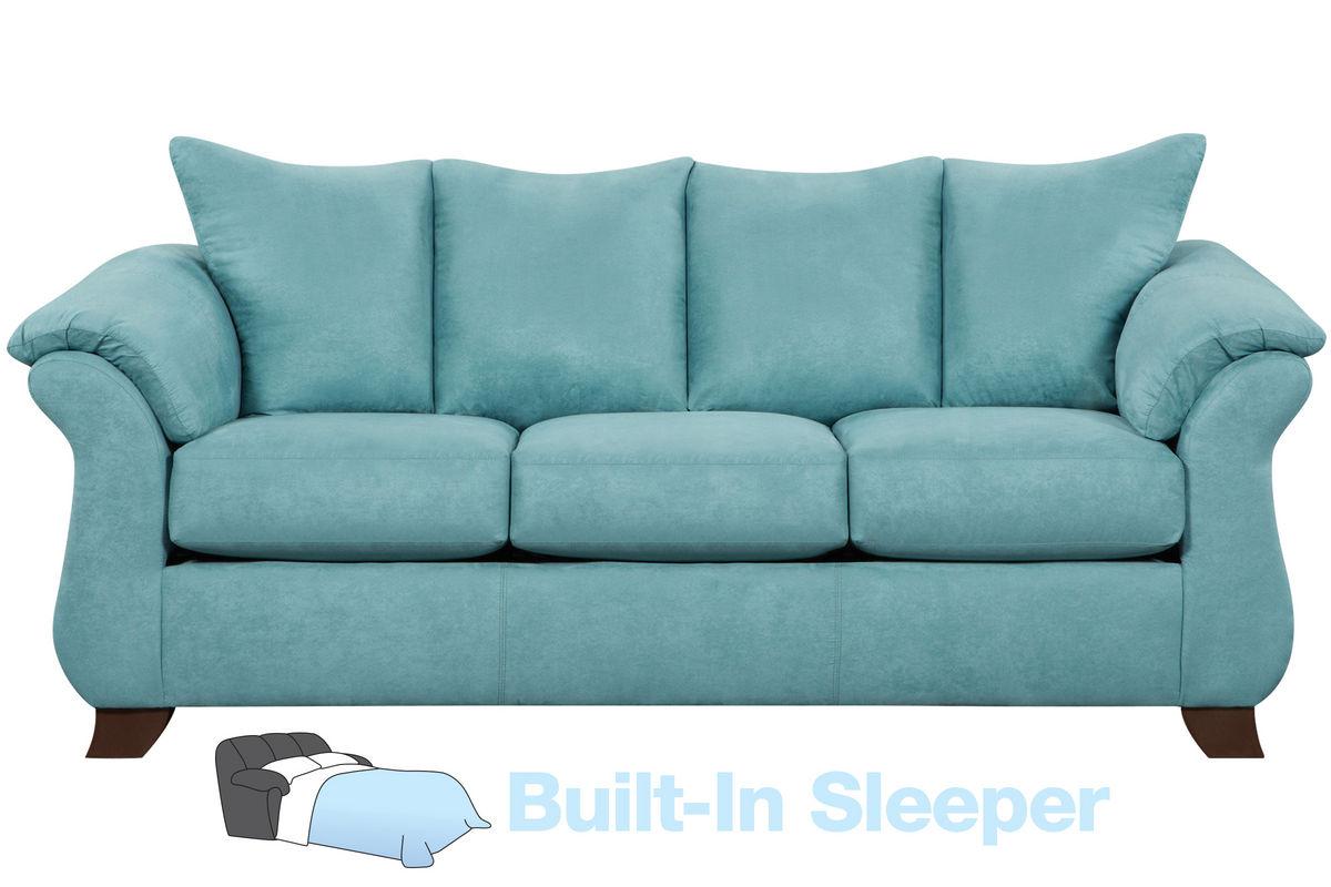 - Taffy Microfiber Queen Sleeper Sofa At Gardner-White