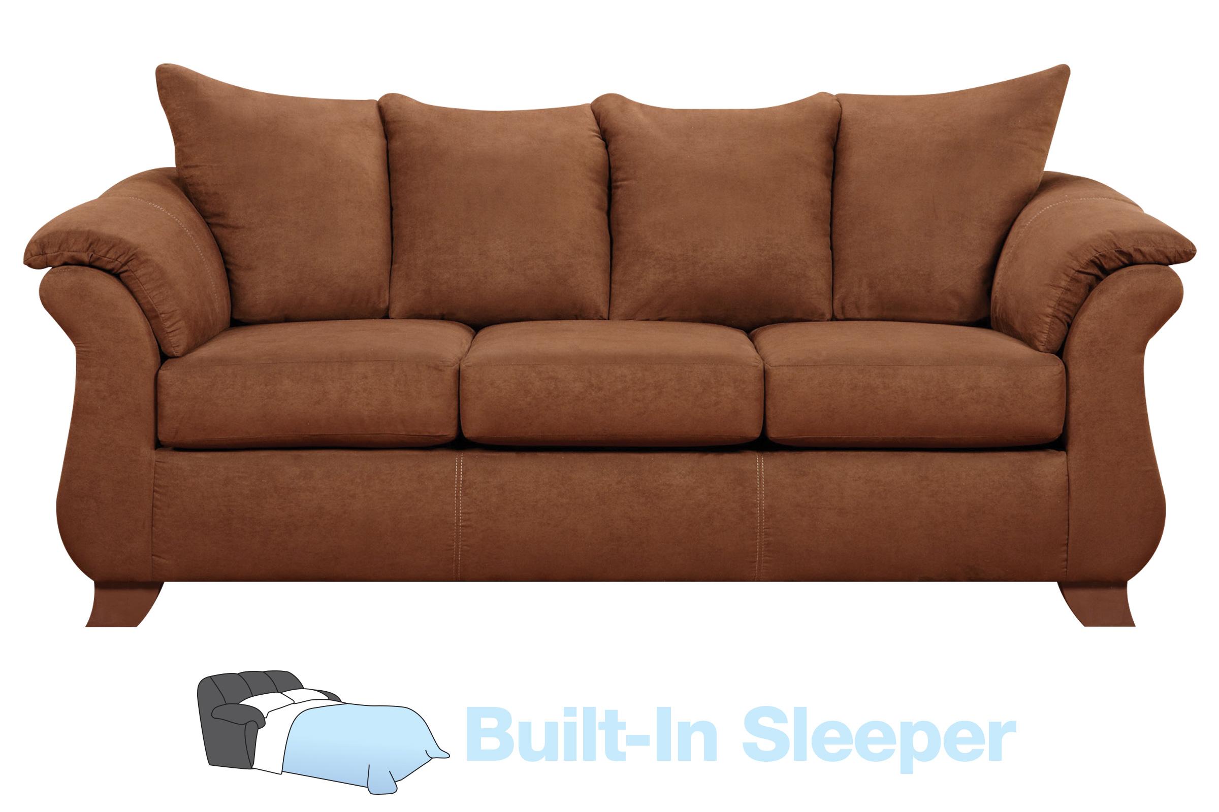 - Vista Microfiber Queen Sleeper Sofa At Gardner-White
