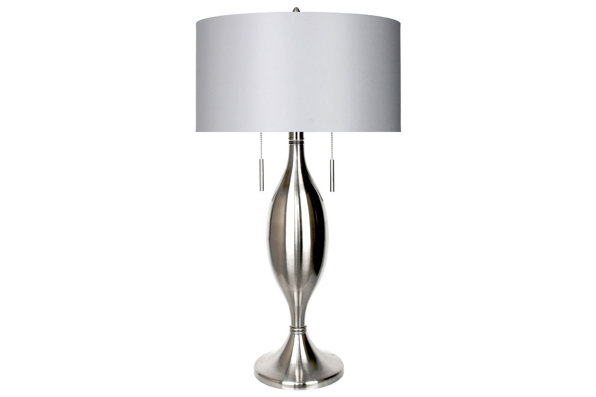 Double Pull Metal Lamp from Gardner-White Furniture