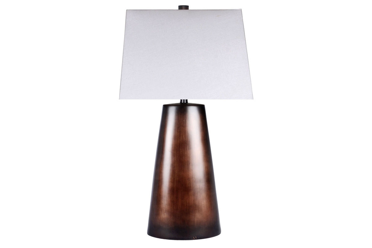 Brushed Brown Table Lamp from Gardner-White Furniture