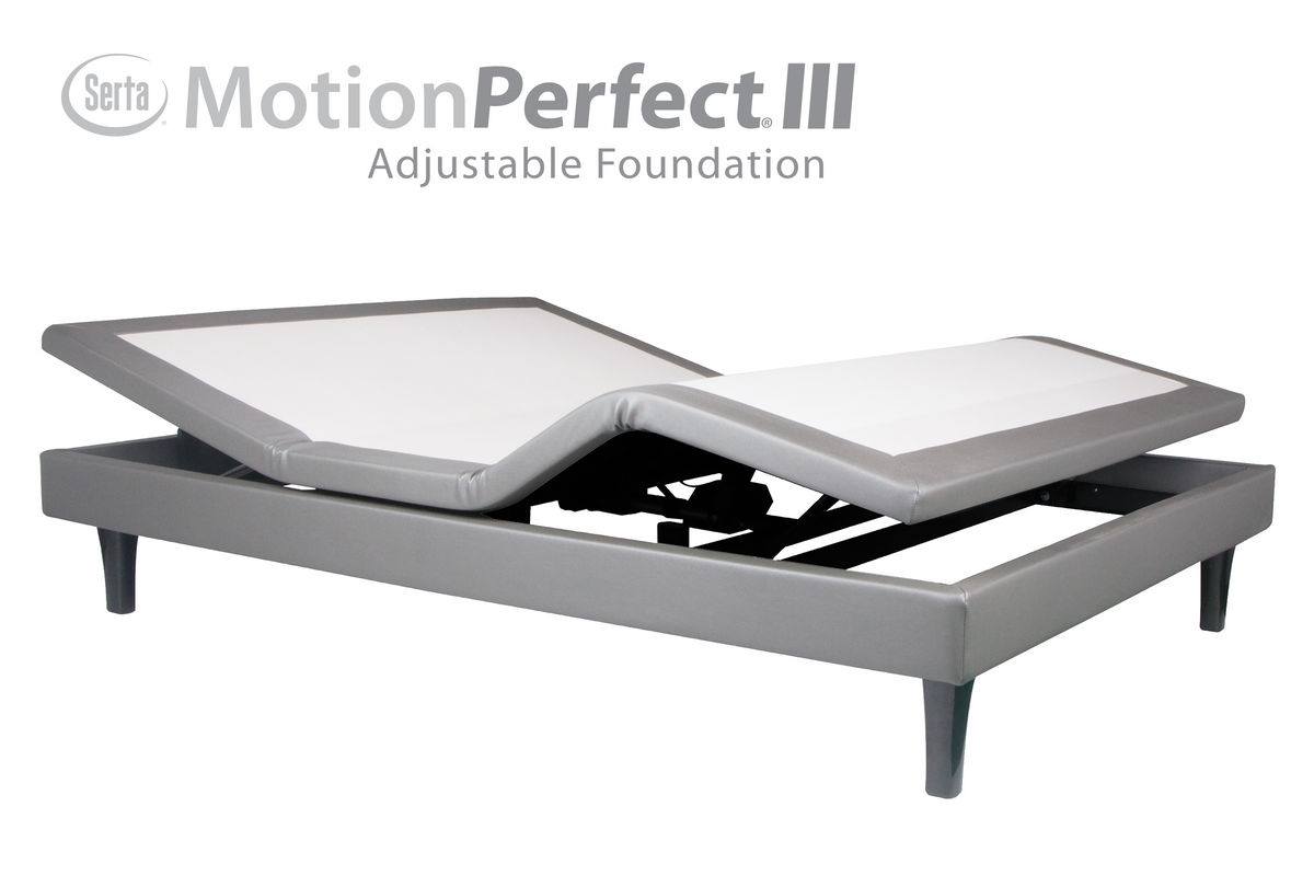 Serta® Motion Perfect® III Divided King Adjustable Base from Gardner-White Furniture