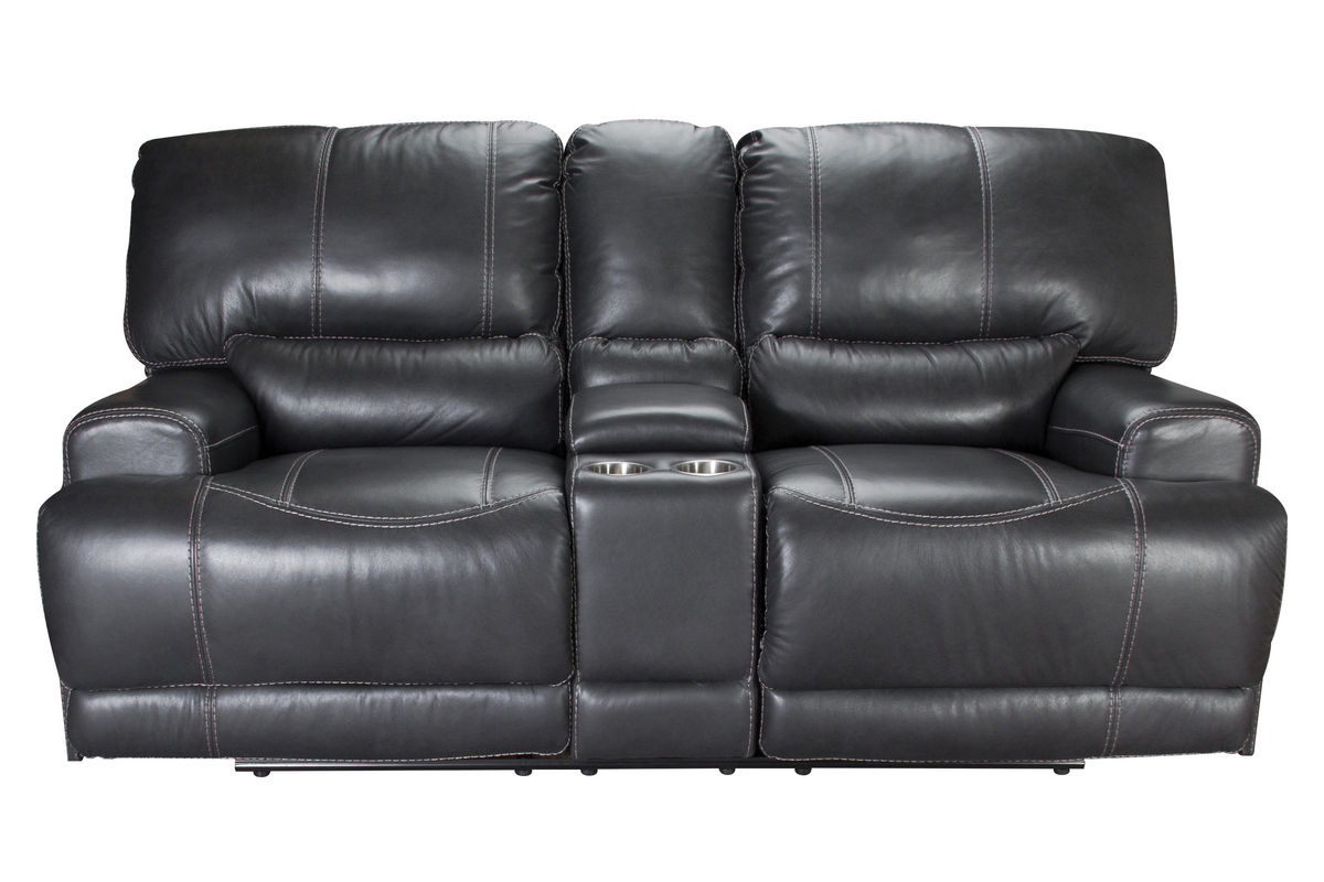 Picture of: Cannon Leather Power Reclining Loveseat At Gardner White
