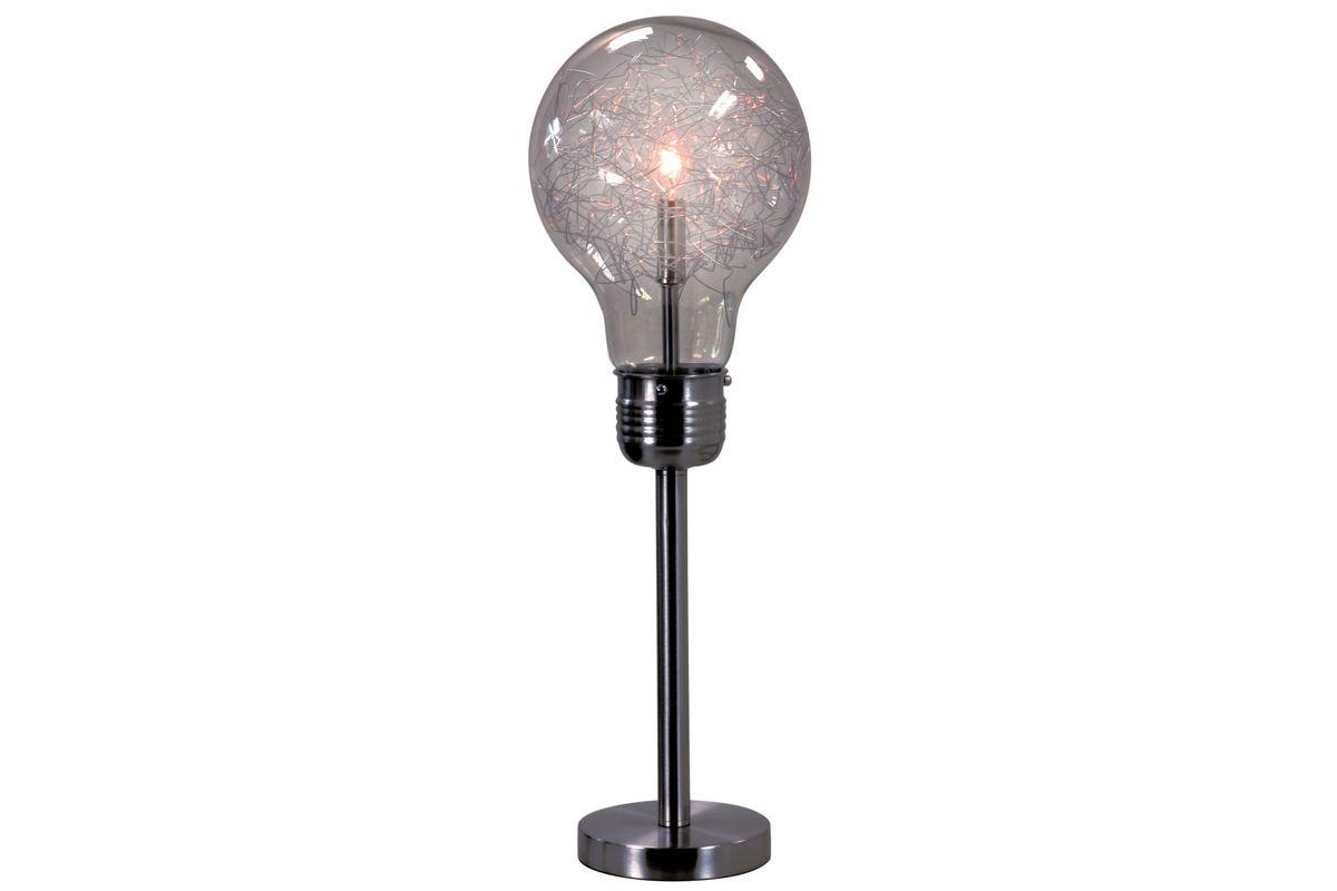 Black Lightbulb Table Lamp from Gardner-White Furniture