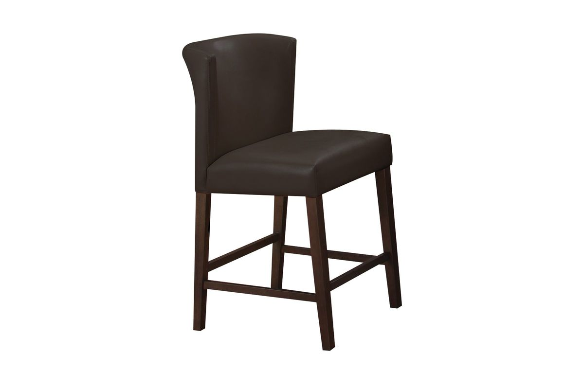 Fleming Brown Pub Stool from Gardner-White Furniture
